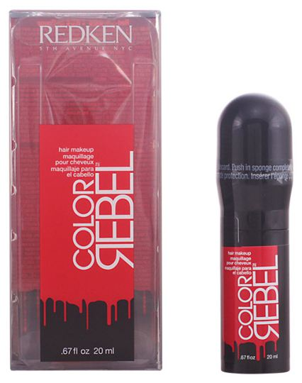 Redken Rebel Hair Color Makeup Rush