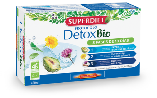 détox bio super diet hepatic cancer estrogen