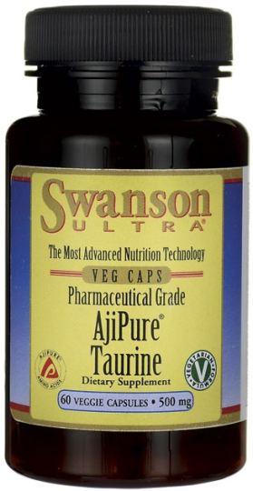 Swanson Taurine 500mg  100 capsules
